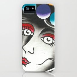 Space Women  iPhone Case