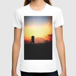 Sunset in Long Beach T-shirt