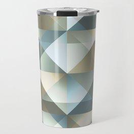 Gradient Diamonds Travel Mug