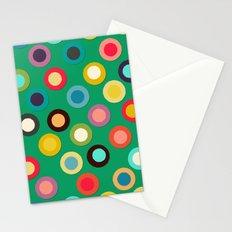 green pop spot Stationery Cards