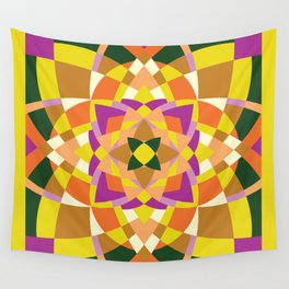 Geo quilt Wall Tapestry