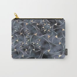 Reverie (in Grey and Gold) Carry-All Pouch