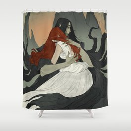 Time to Say Goodbye Shower Curtain