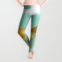 unicyle goldfish III Leggings