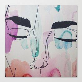 Shut Eye Canvas Print