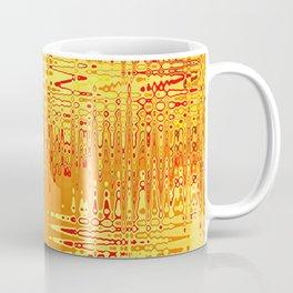 yellow abstract Graphic Design Coffee Mug