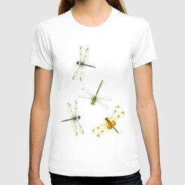 Dragonfly Pattern T-shirt