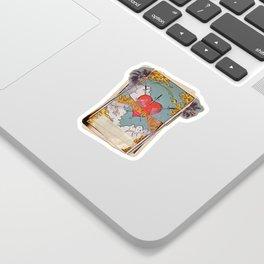 Halsey Heart Tarot card Sticker