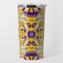 Tribal Block Print Travel Mug