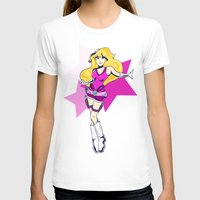 tomb raider T-shirts featuring Princess Peach Raider by Ashly Picazo