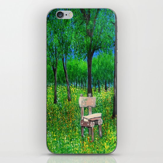 Sit with me  iPhone & iPod Skin