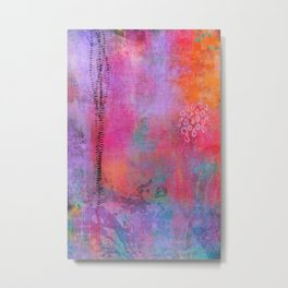garden - abstract painting Metal Print