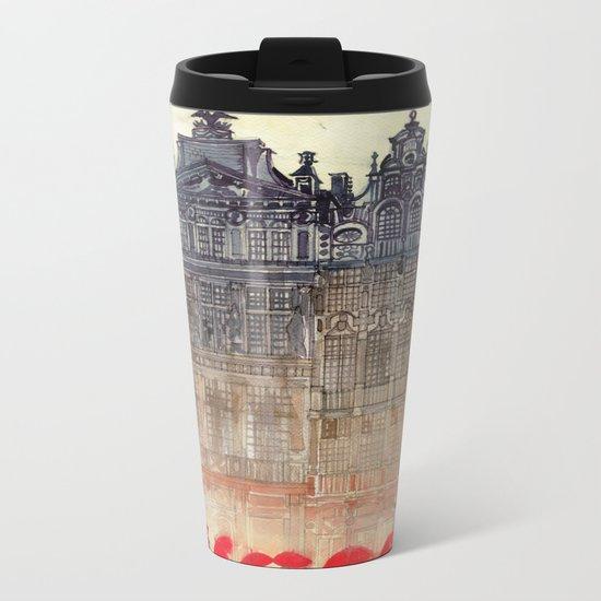 Brussels Metal Travel Mug