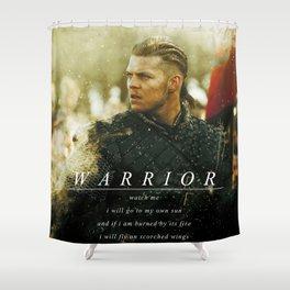 Warrior Watch Me - Ivar The Boneless Shower Curtain