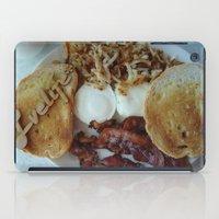 breakfast iPad Cases featuring Breakfast by Gurevich Fine Art