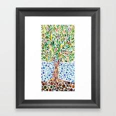Treestory Framed Art Print