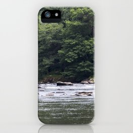 Calming the River iPhone Case