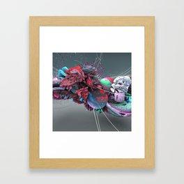 Ruido/Noise Framed Art Print