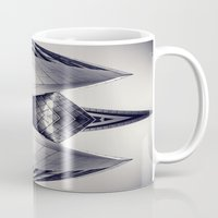 transformer Mugs featuring tRansformeR by Dirk Wuestenhagen Imagery