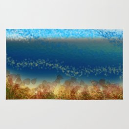 Abstract Seascape 01 w Rug