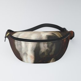 "Théodore Géricault ""The head of white horse"" Fanny Pack"