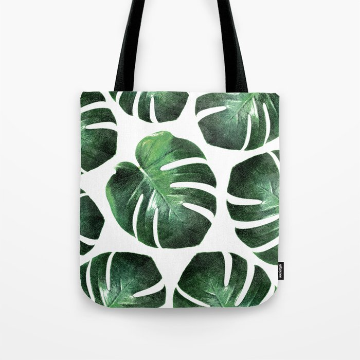 MONSTERA TROPIC Tote Bag
