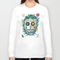 tequila Long Sleeve T-shirts featuring Tequila by Jorge Garza