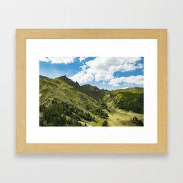 Breathing Framed Art Print