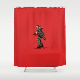 METAL GEAR SOLID V VENOM SNAKE Shower Curtain
