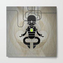 Deus ex machina Metal Print