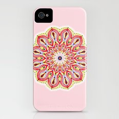 Mandala Pink Slim Case iPhone (4, 4s)