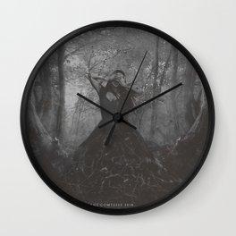 The Pecan Tree Wall Clock