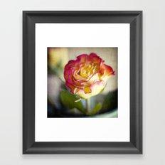 a romantic gesture Framed Art Print