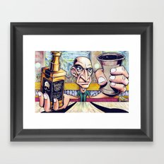 My life at 30 Framed Art Print