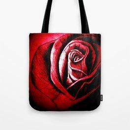 The Black Rose Red Tote Bag
