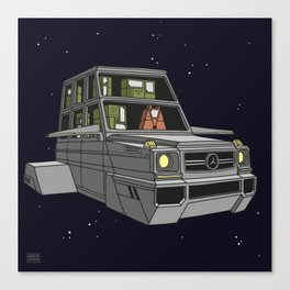 Space car Canvas Print