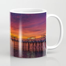 Redondo Pier Sunset Coffee Mug