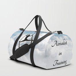 Aerialist in the Sky Duffle Bag