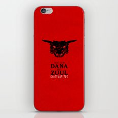 Zuul iPhone & iPod Skin