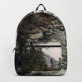 Winter Begins - River Mountain Nature Photography Backpack