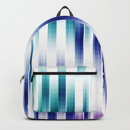 Abstract Vertical pattern Backpack