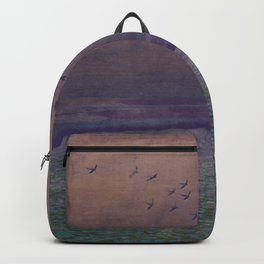 'under every deep a lower deep opens' Backpack