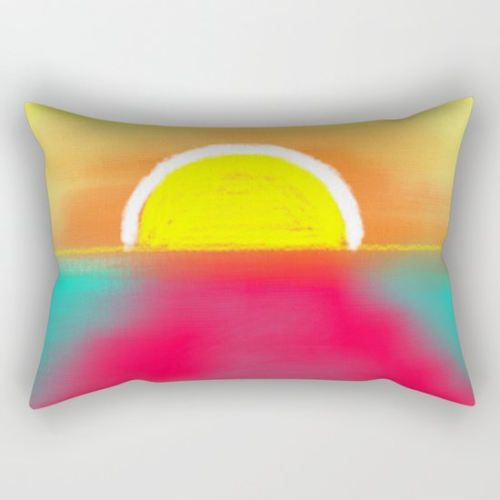 HOT SUNSET Rectangular Pillow
