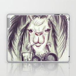 Palm Tree Llama Laptop & iPad Skin