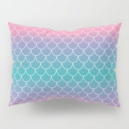 Pastel Mermaid Pillow Sham