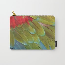 Macaw Feathers Carry-All Pouch