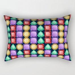 Colorful diamonds Rectangular Pillow