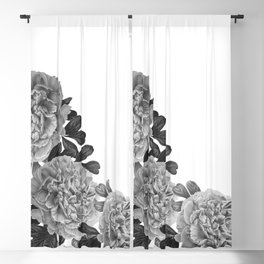 Flowers in the morning Blackout Curtain