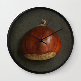 Little Chestnuts Wall Clock