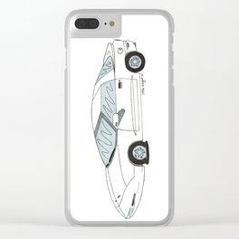 Flat Tire Firebird Clear iPhone Case
